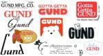 GUND history logo